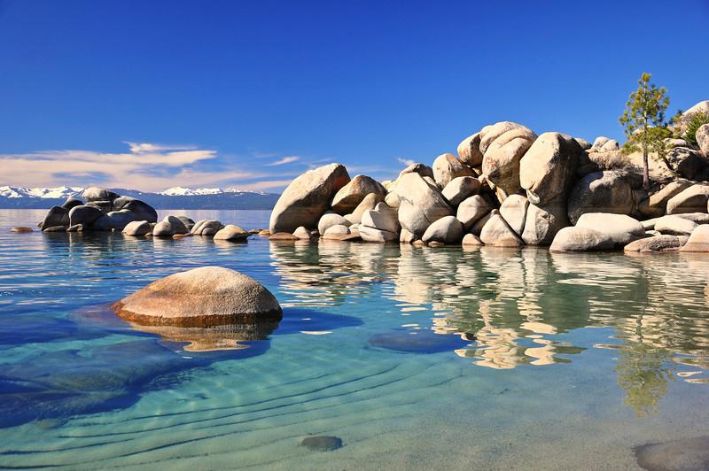 Chimney Beach, Lake Tahoe, NV.