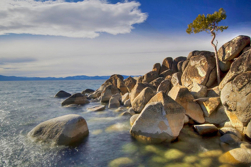 East Shore, Lake Tahoe, NV.