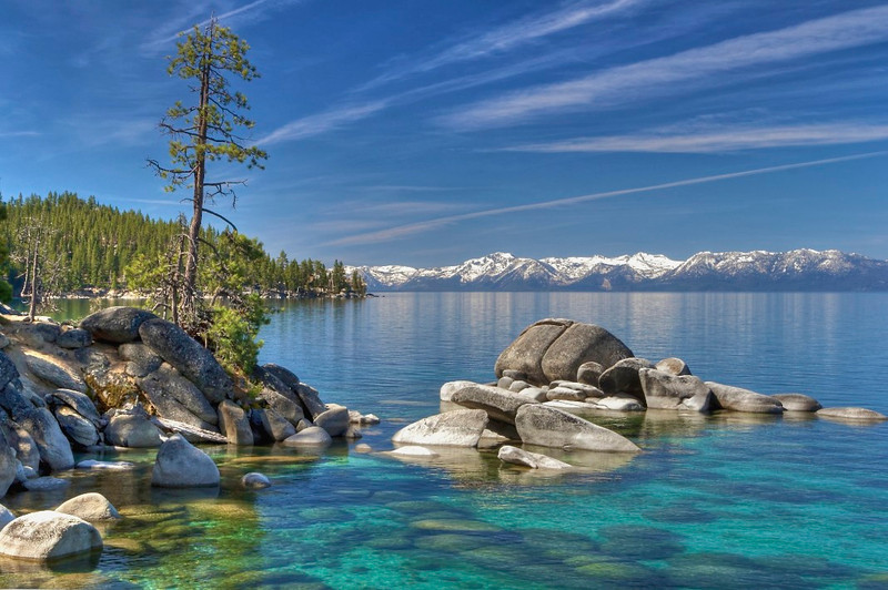 East Shore Lake Tahoe, NV.
