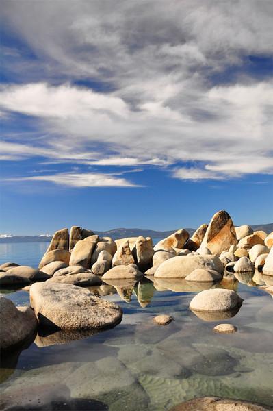 Creek Beach, Lake Tahoe, NV.
