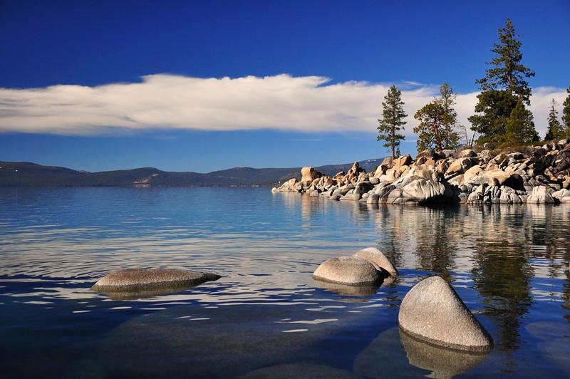 Secret Harbor Cove, Lake Tahoe, NV.