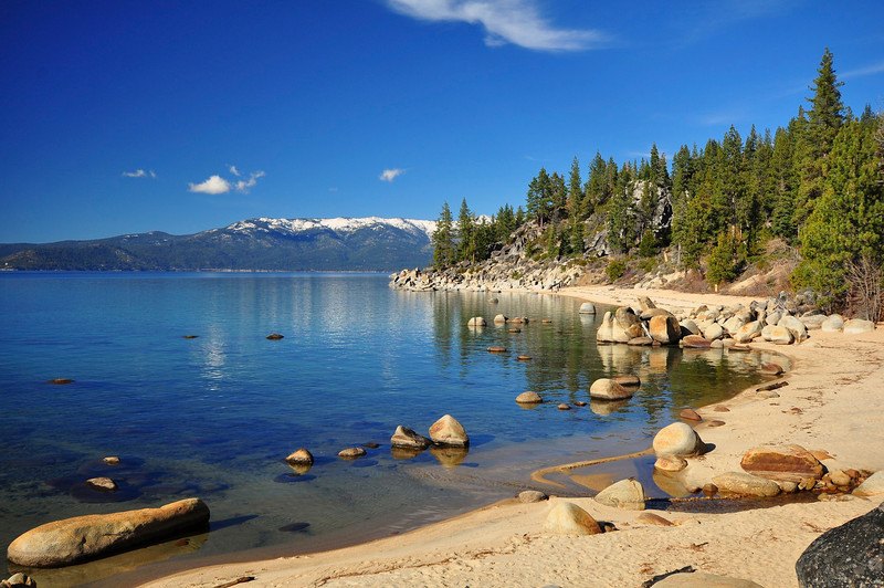 Creek Beach, Lake Tahoe, NV.