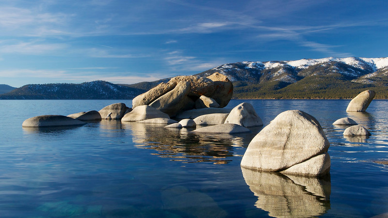 Sand Harbor, Lake Tahoe Nevada State Park.