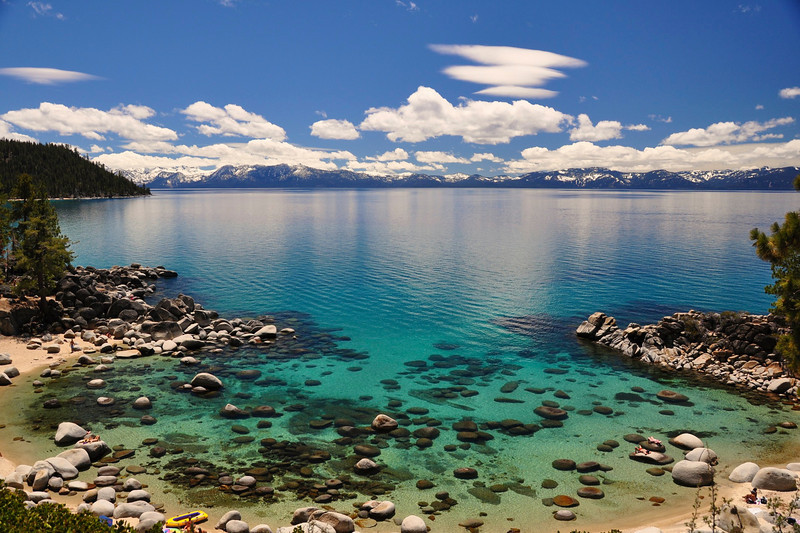 Secret Harbor Cove, Lake Tahoe, NV.