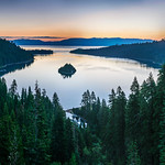 Lake-Tahoe-Emerald-Bay-Sunrise-Panorama_DSC3329_20100810-_DSC3335-Vikingsholm-California-Fine-Art-Photography PRINT