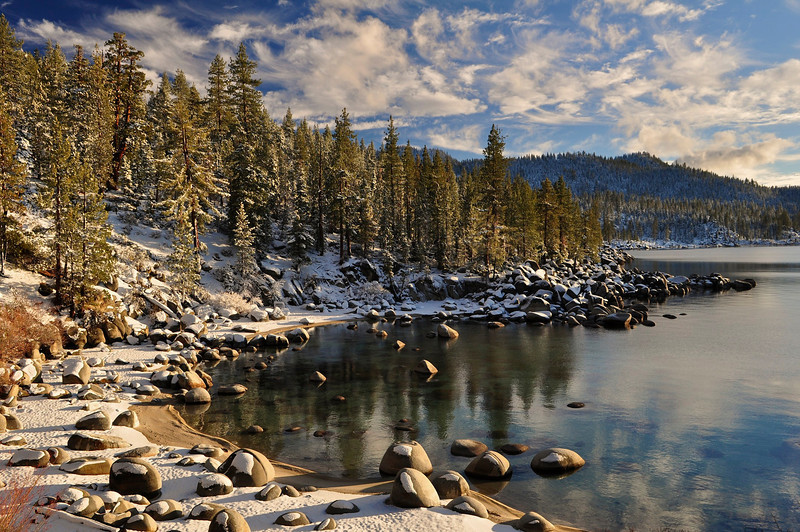 Secret Harbor Cove, Lake Tahoe Nevada State Park.