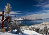 Heavenly Ski area, post storm, Lake Tahoe, NV.
