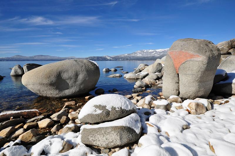 Bikini Rock, Lake Tahoe