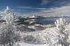 Heavenly Ski area, post storm, Lake Tahoe, NV.