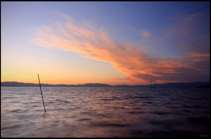 Lake Tahoe, Sunset