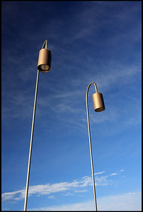 A Pair of Lamp Poles