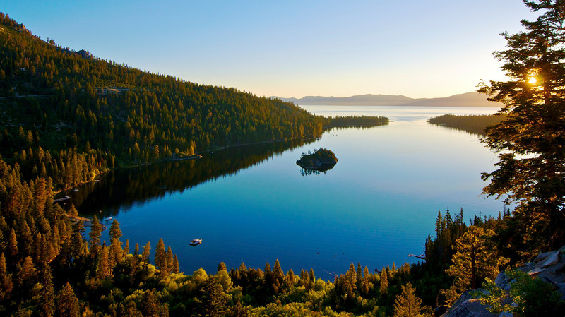 Sunrise, Eagle Falls, Emerald Bay, Lake Tahoe, CA.