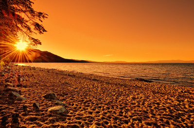 Tallac Beach, Lake Tahoe