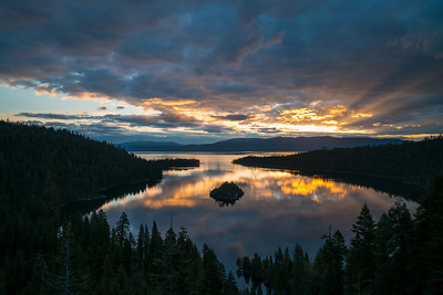 Emerald Bay Sunrise Spring 2018-7