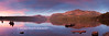 Fallen Leaf Lake Summer Sunrise 30x10