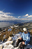 South Lake Tahoe, from East Peak, Heavenly.