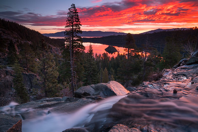 Emerald Bay Sunrise Fall 2017-5