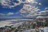 October snow, Carson Valley, NV.