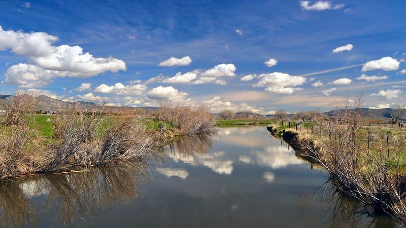 Carson River, Carson Valley, NV.