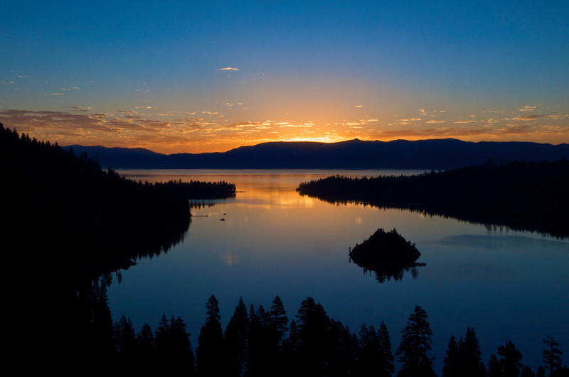Sunrise, Solstice, Emerald Bay, Lake Tahoe