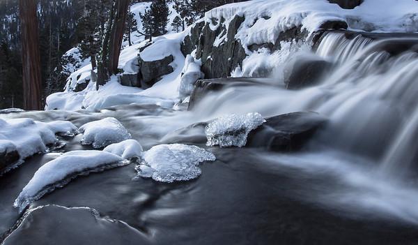 Icy Eagle Falls