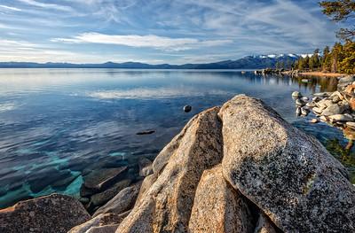 Lake Tahoe Rock Vista