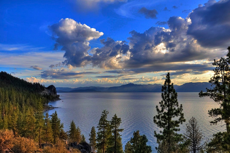 Cave Rock, Lake Tahoe, NV.