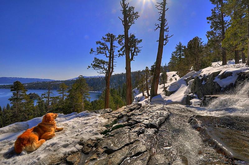 Eagle Falls, Emerald Bay State Park, Lake Tahoe, CA.