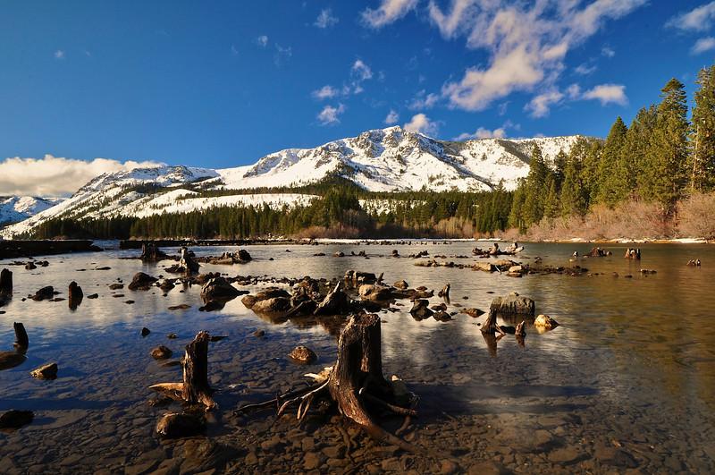 Fallen Leaf Lake, Mt. Tallac, South Lake Tahoe Area