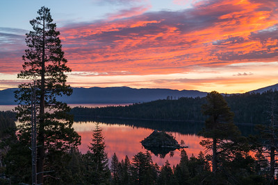 Emerald Bay Sunrise Fall 2017-1