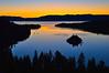Dawn, Eagle Falls, Emerald Bay, Lake Tahoe, CA.