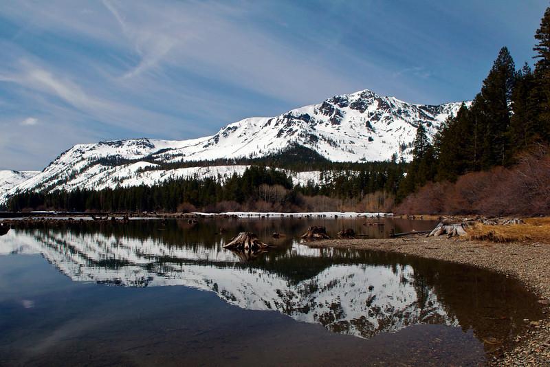 Mt. Tallac, Fallen Leaf Lake, Lake Tahoe, CA.