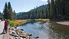 The Truckeee River flows out of Lake Tahoe at Tahoe City and then begins its descent. A wonderful bike trail runs adjacent to the river as far as Squaw Valley: a wonderful ride.