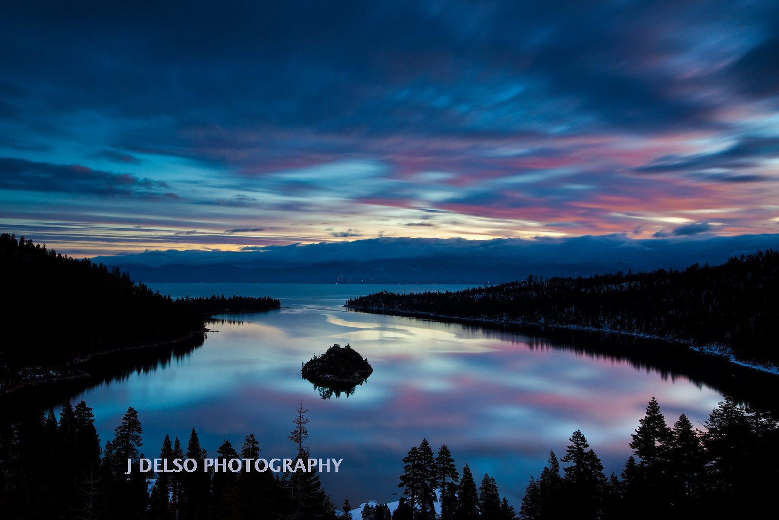 Emerald Bay Before Sunrise