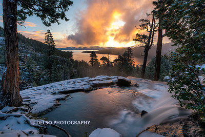 Emerald Bay First Snow 2017-2