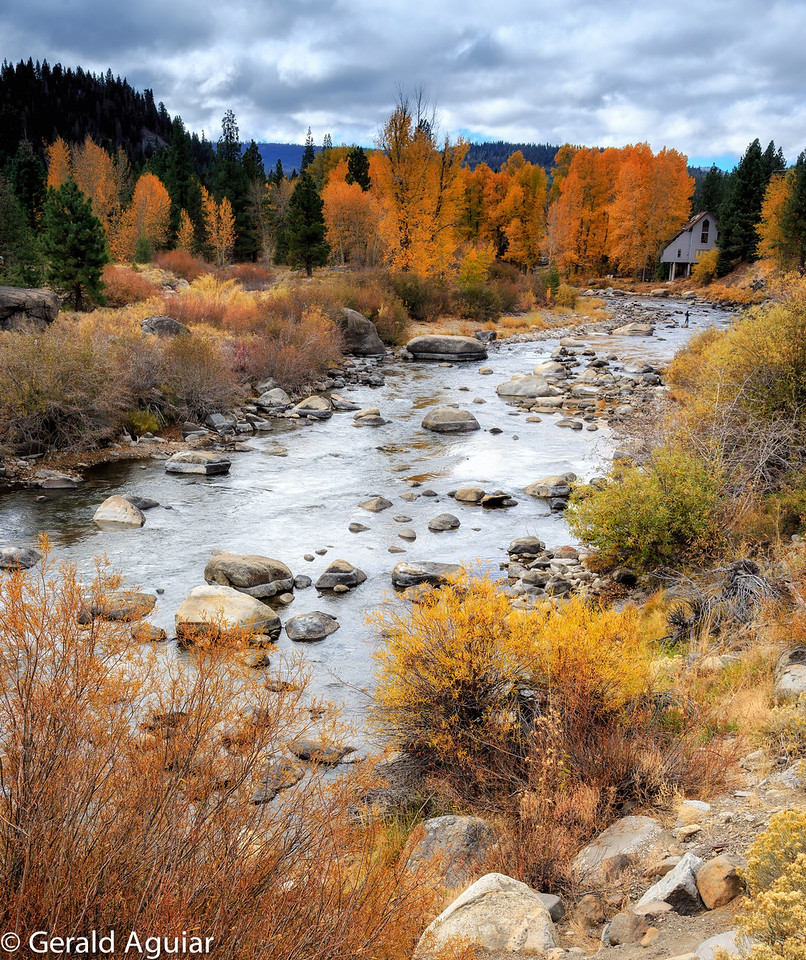 View of the Truckee River.