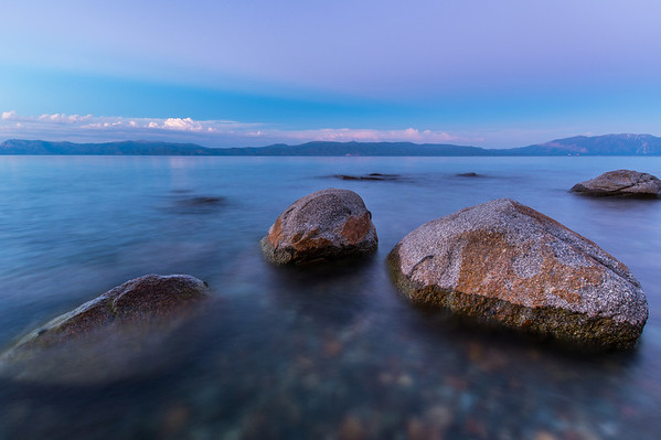 Lake Tahoe Blue Hour