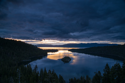 Emerald Bay Sunrise Spring 2018-1