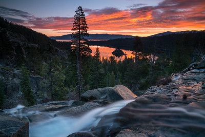 Emerald Bay Sunrise Fall 2017-4