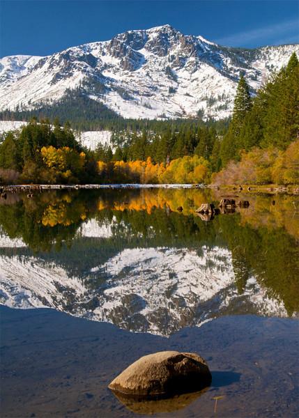 Mt. Tallac,Fallen Leaf Lake, Lake Tahoe, NV.