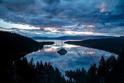 Emerald Bay Sunrise Spring 2018-3