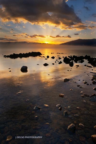 Lake Tahoe Summer Sunrise