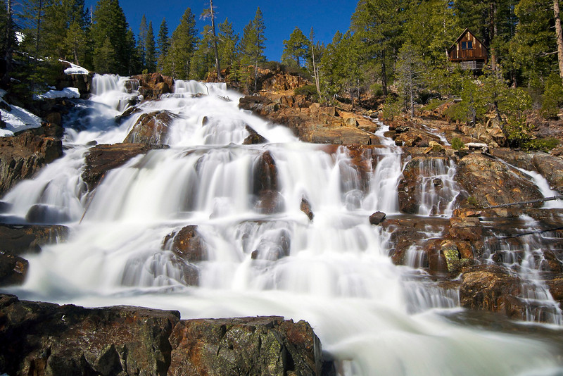 Lower Glen Alpine Falls, Lake Tahoe, CA