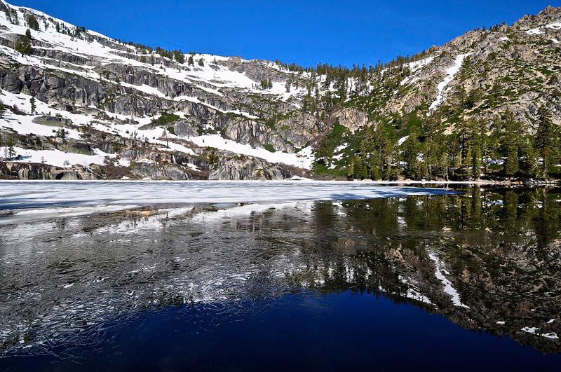 Upper Angora Lake, Lake Tahoe, CA