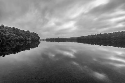 Lake Whitehall - Cloudy Sunrise -Tom Sloan