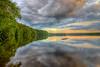 Summer Solstice Sunset 2 - Lake Whitehall - Tom Sloan