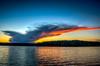 Lake Whitehall Sunset Cloud