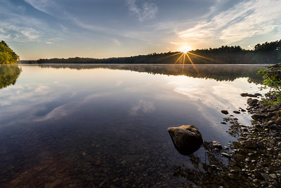 Peaceful Sunrise at Lake Whitehall - Tom Sloan