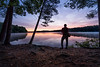 Waiting on Sunrise - Lake Whitehall, Hopkinton MA - Tom Sloan