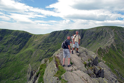 Near to the Chimney on Striding edge.